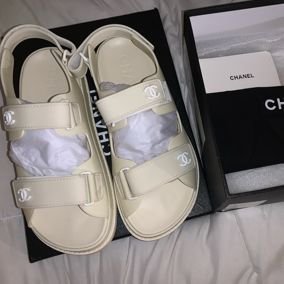 CHANEL Shoes   Chanel Dad Sandals
